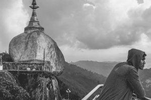 The Golden Rock (Mount Kyaiktiyo) Myanmar
