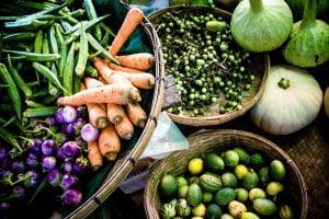 Bagan Nyaung U market