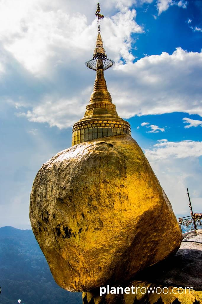 The Iconic Golden Rock at Mount Kyaiktiyo