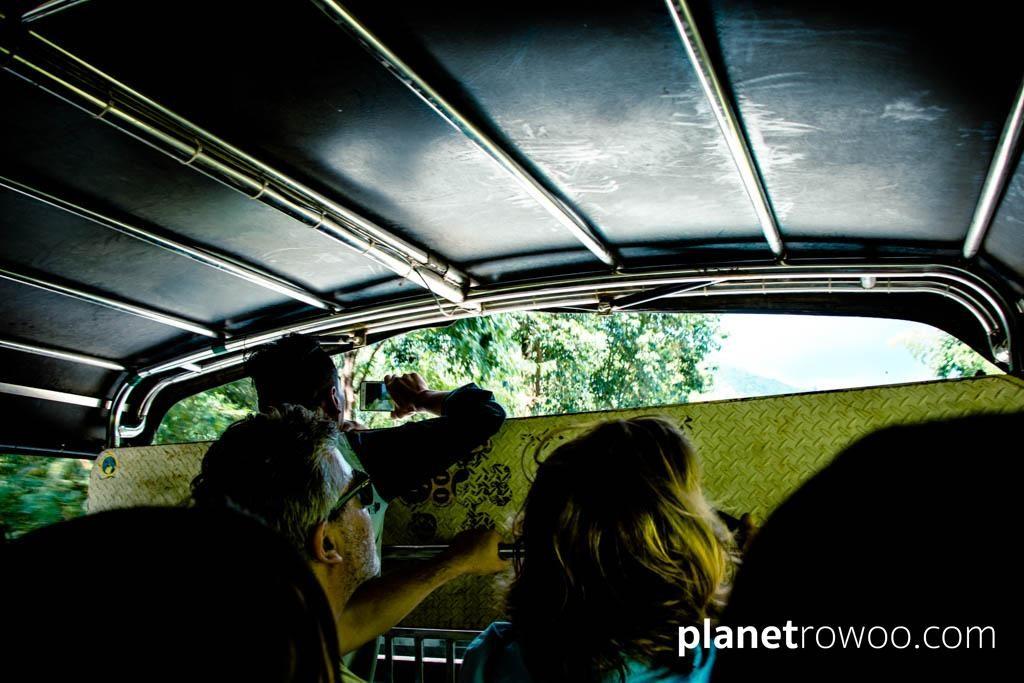 Golden Rock truck ride