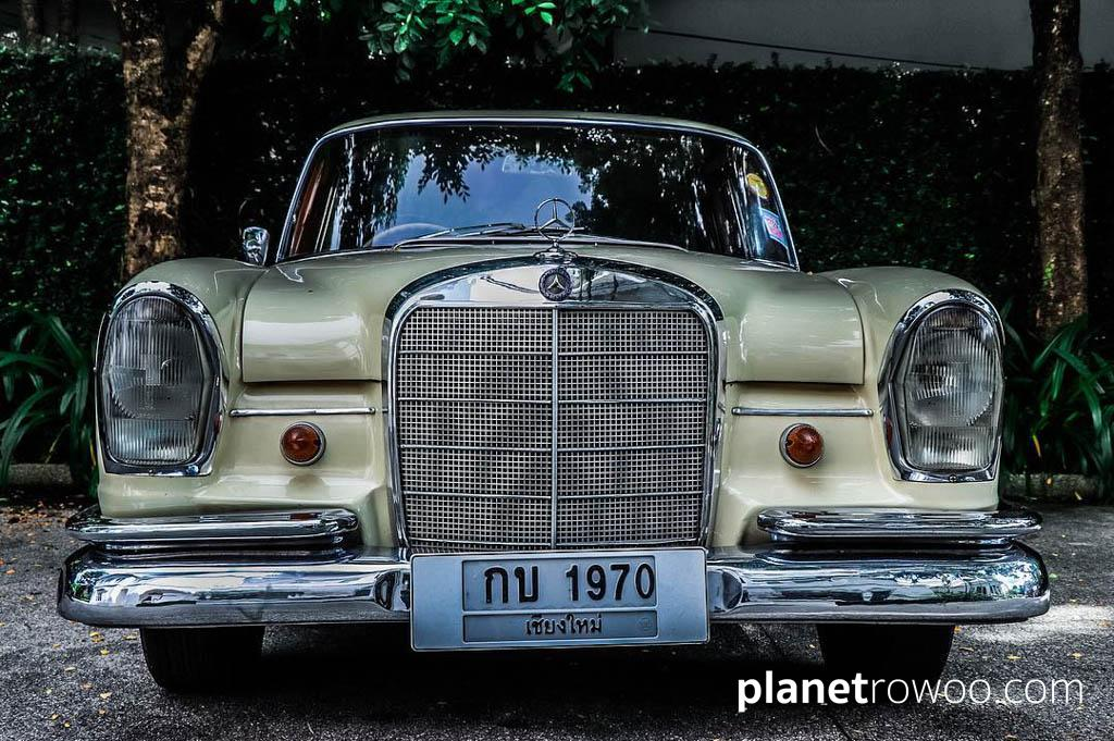 Ping Nakara's classic Mercedes