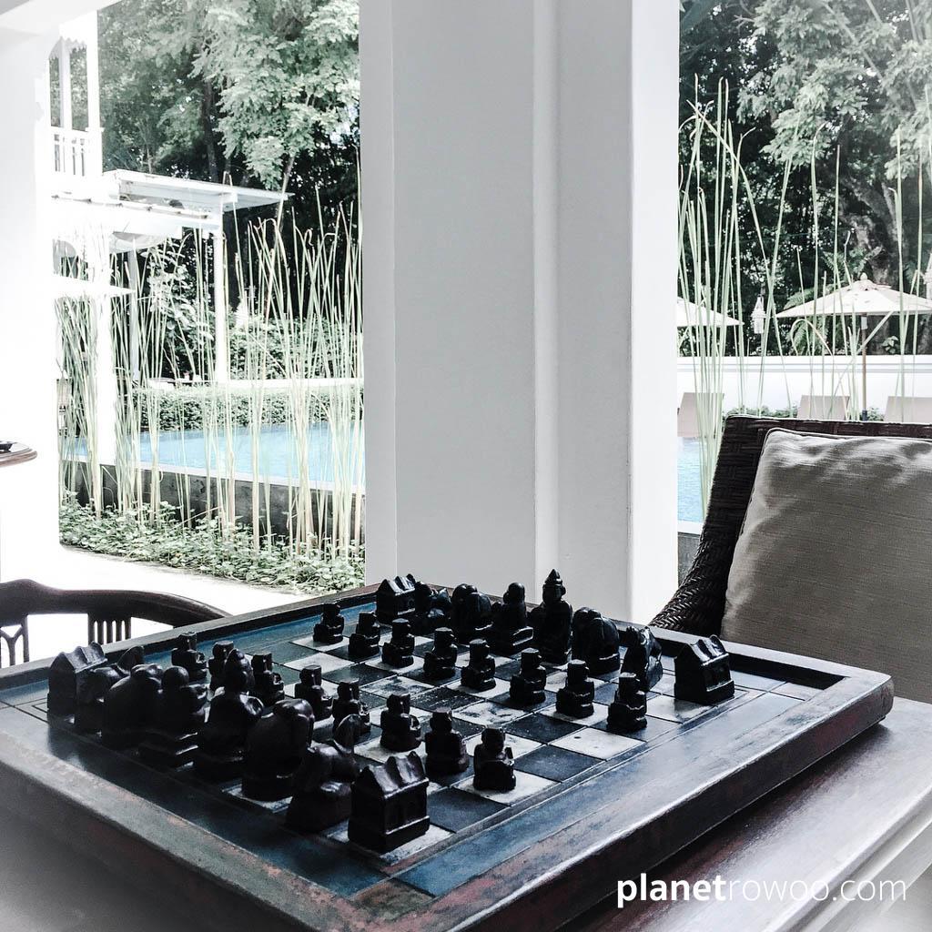 Chess on the Ping Nakara Veranda