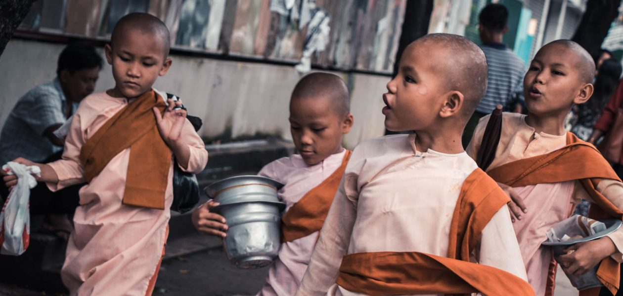 Novice Nuns Yangon