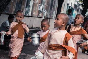 Novice Nuns Yangon