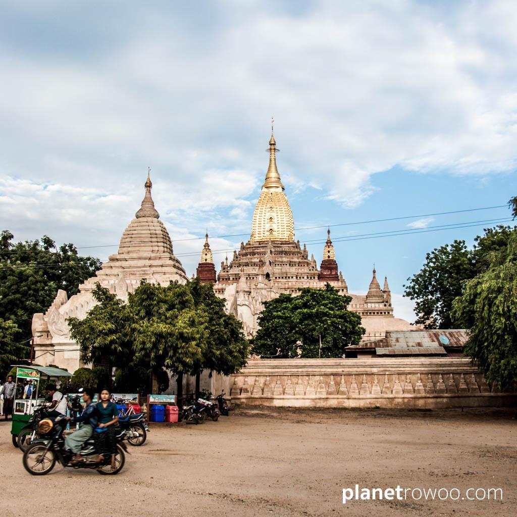 Ananda temple grounds, Bagan
