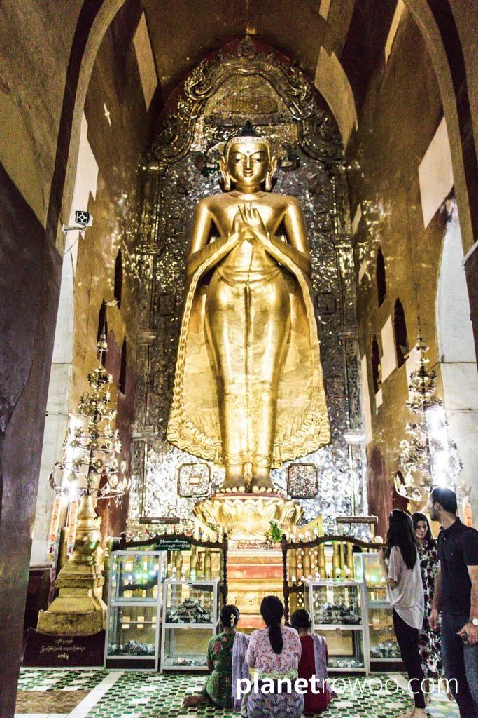 Standing Kakusandha Buddha, Ananda temple