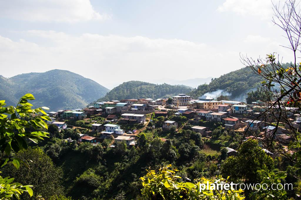 Pein Ne Bin village in the Kalaw hills