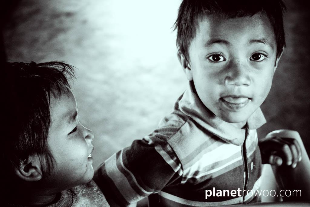 Palaung village children, Kalaw