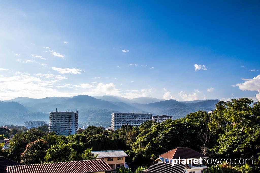My view towards Doi Suthep mountain for the next 6 months