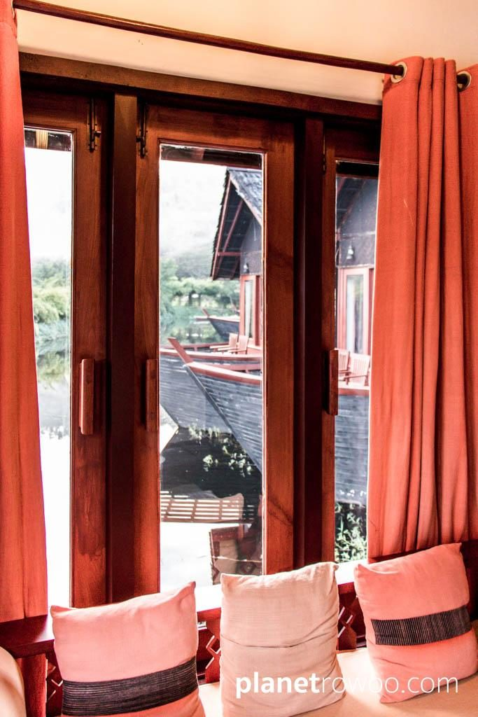 View from my window, Pristine Lotus Resort
