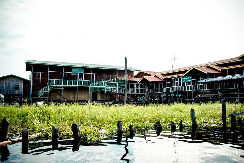 Village school on Inle Lake