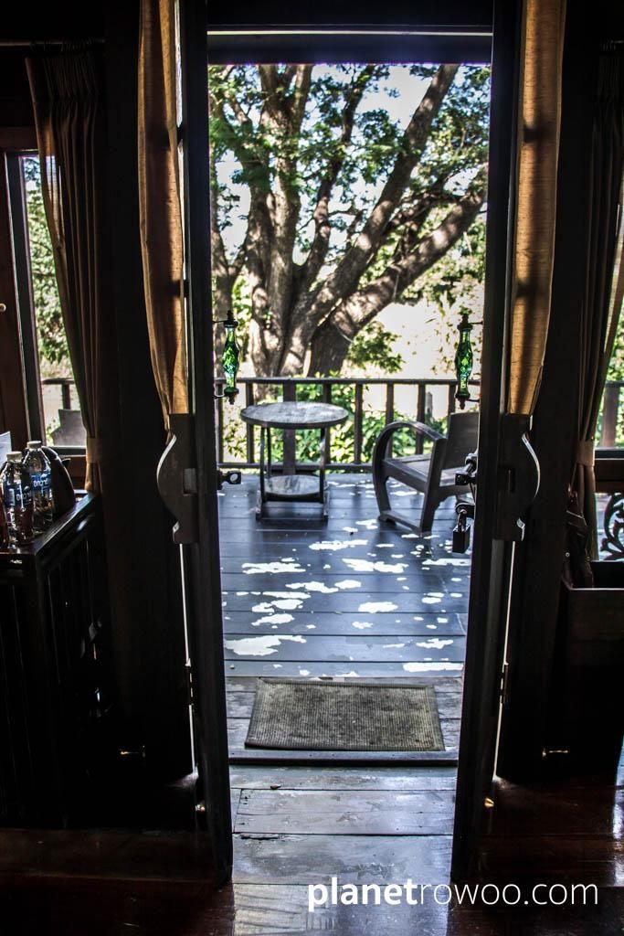 Marndadee Rice Barn Villa Balcony