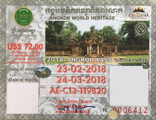 Angkor Pass