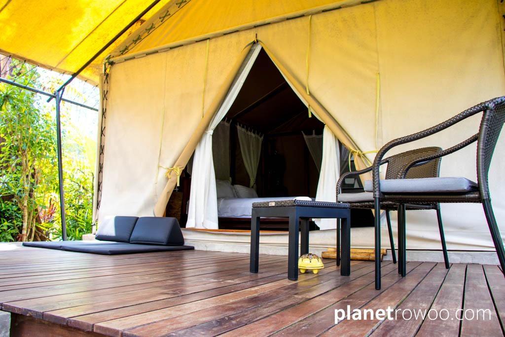 Tented Villa at Haadson Resort