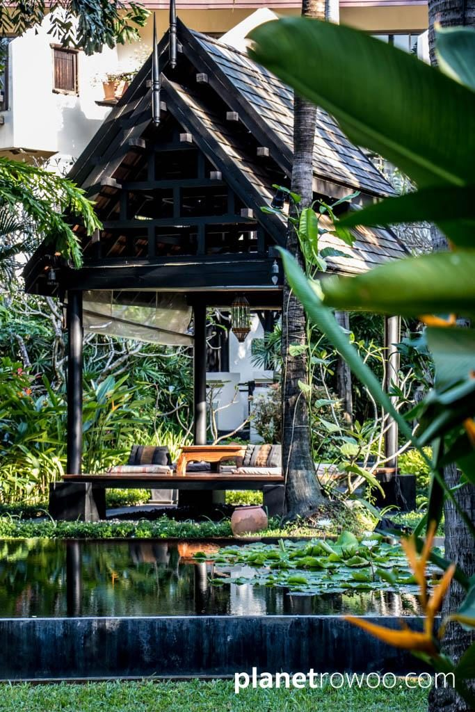 Sala set in the Anantara Bophut tropical grounds