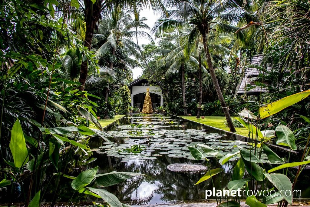 Tropical grounds of the Anantara Bophut