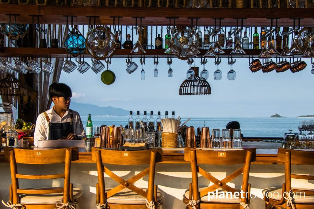 A Beach bar at Fisherman's Village, Bophut, Koh Samui