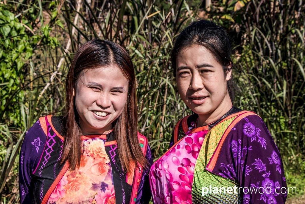 Lisu villagers - your hosts at Lisu Lodge
