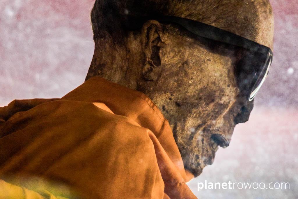 The Mummified Monk at Wat Khunaram, Koh Samui