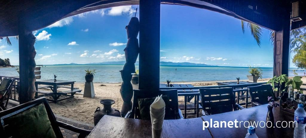 Phangan Rainbow Bungalows Restaurant View