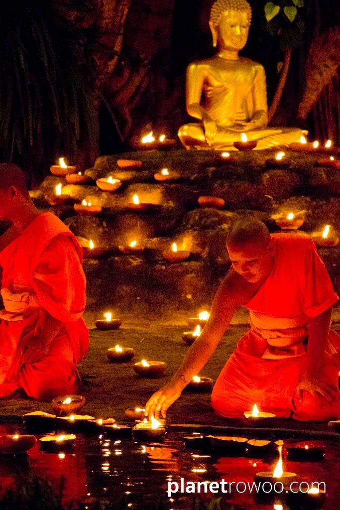 Wat Phan Tao Yee Peng Ceremony, Chiang Mai