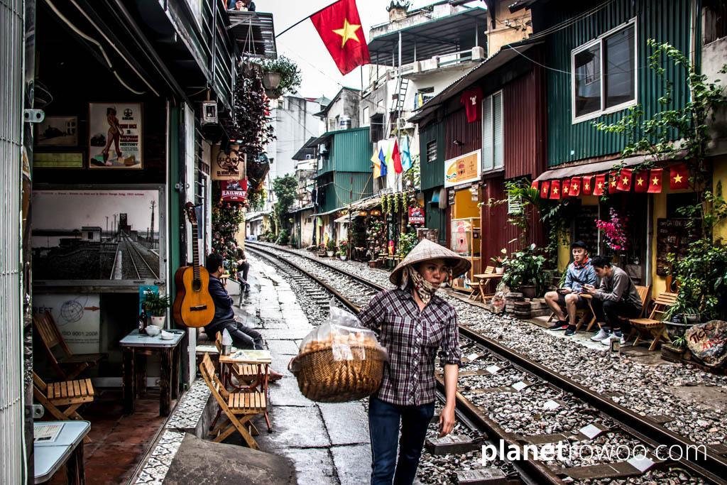 Train Street in Hanoi Old Quarter