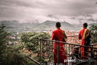 Wat Chomsi / Phousi Hill, Luang Prabang, Laos