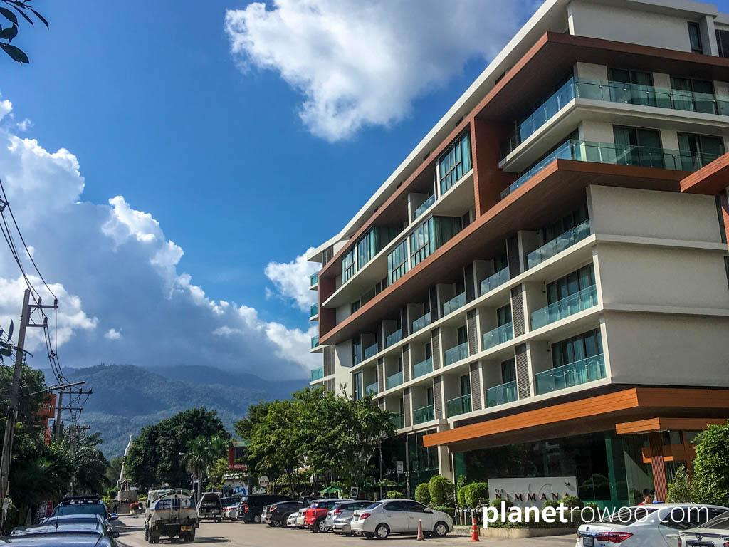 The Nimmana Condo with Doi Suthep mountain beyond