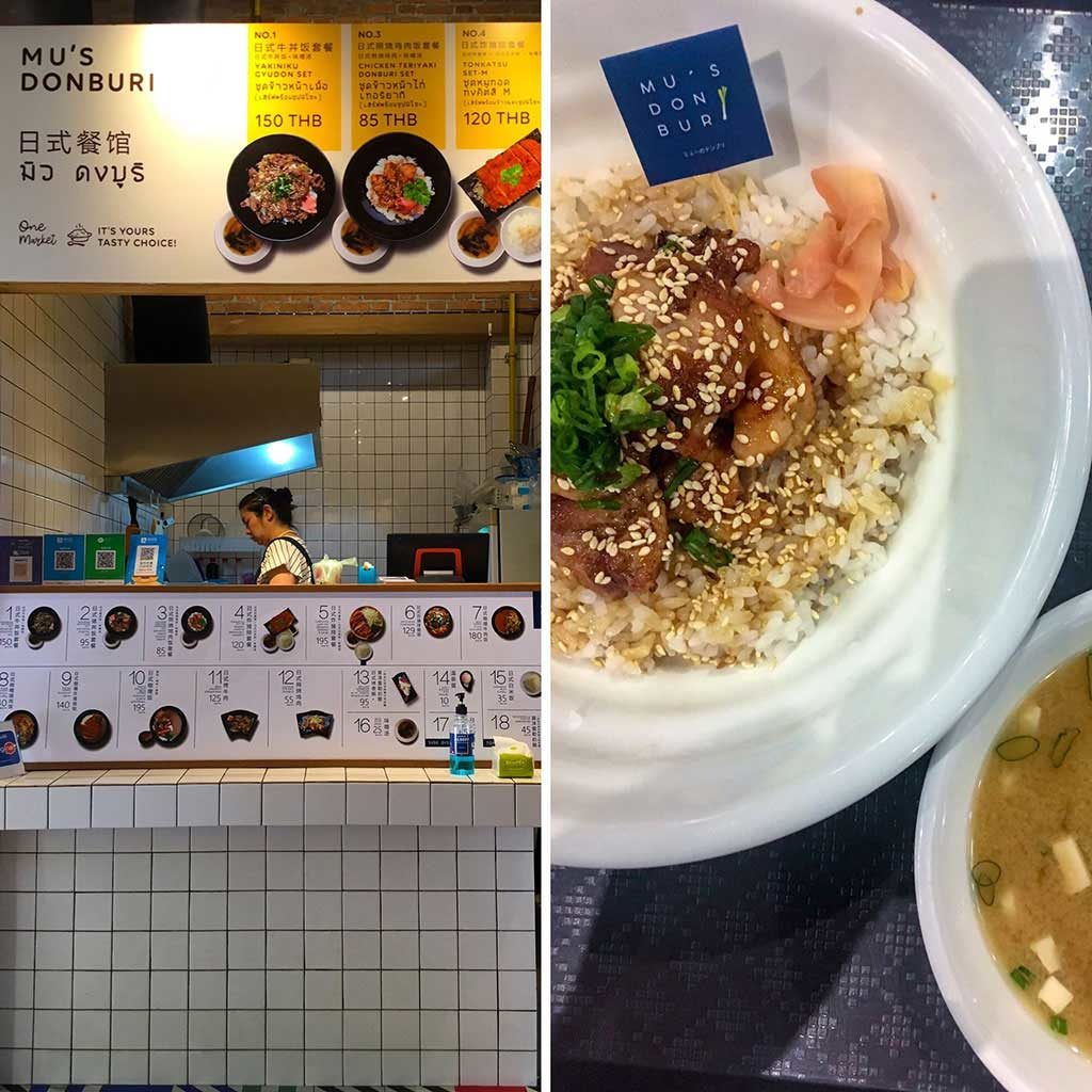 Mu's Donburi Chiang Mai offering takeaway and delivery during the COVID-19 lockdown