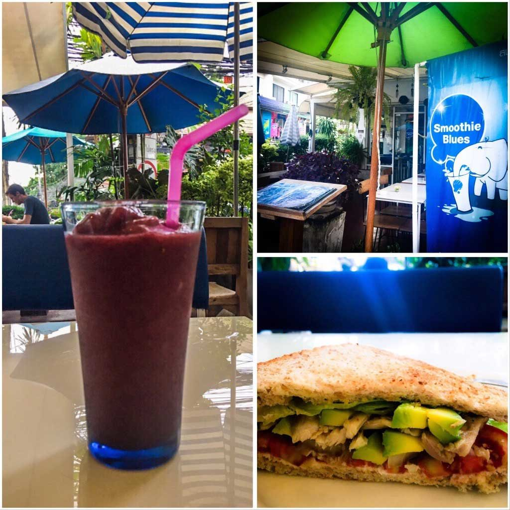 Smoothie Blues Chiang Mai offering takeaway and delivery during the COVID-19 lockdown