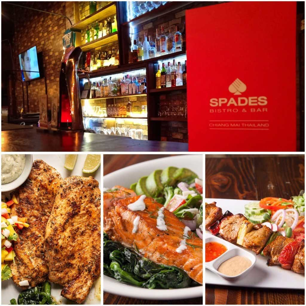 Spades Bistro & Bar Chiang Mai offering takeaway and delivery during the COVID-19 lockdown