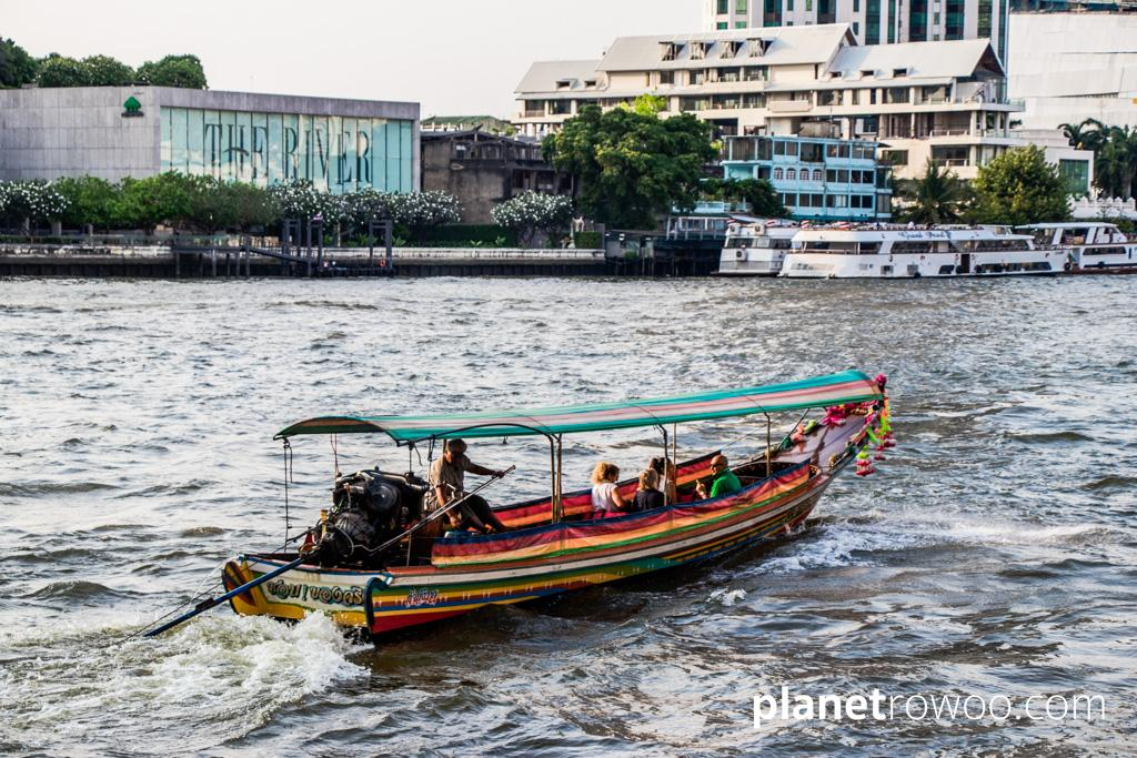 You can hire a private long-tail from the main tourist piers on the Chao Phraya river