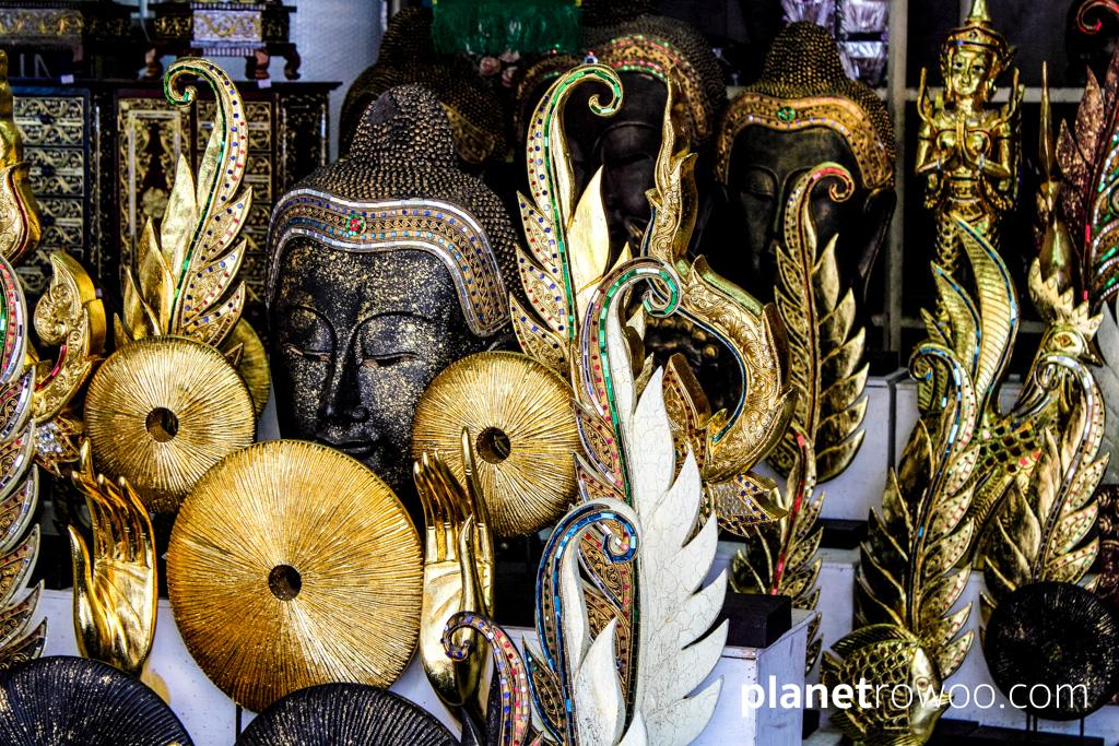 From art & antiques to just about everything!... at Chatuchak Weekend Market in Bangkok