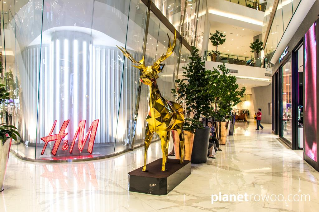 There are plenty of western brands to chose from at ICONSIAM shopping mall in Bangkok