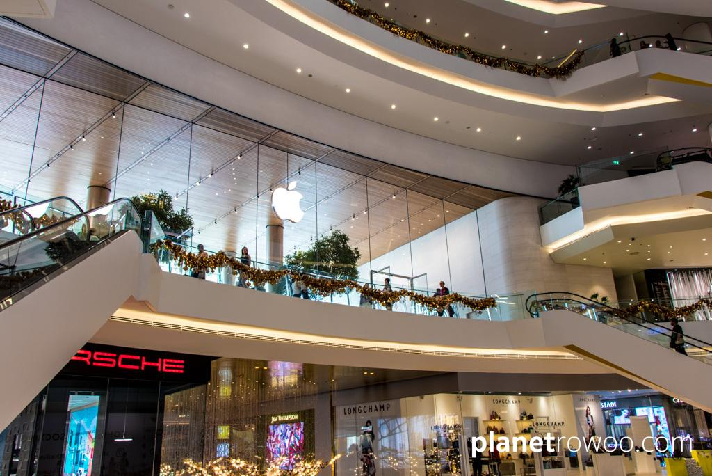 Thailand's first official Apple Store resides on the 2nd floor of ICONSIAM in Bangkok