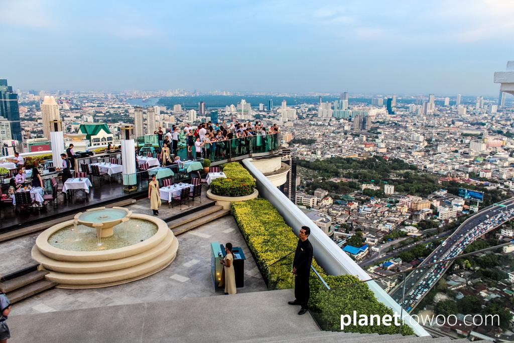 Sky Bar on the 63rd floor of Lebua at State Tower in Bangkok