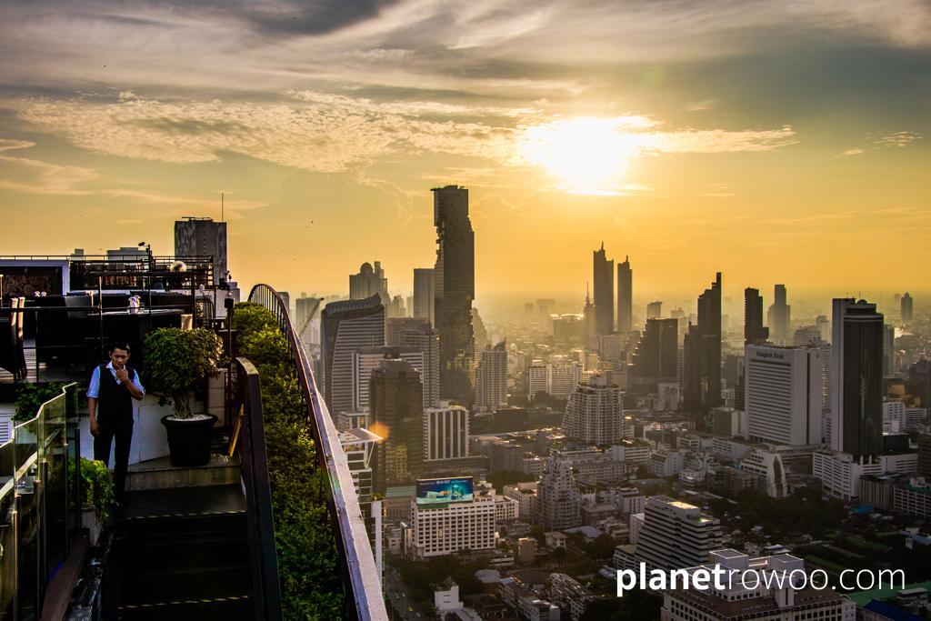 Vertigo, 61 floors up at the Banyan Tree Bangkok